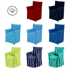 8 Color Choice - IDC 100% Cotton Director Outdoor Indoor Chair Cover