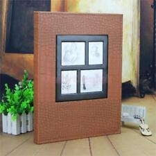 Large Memories Photo Album Holds 400 Photo Storage Case for Family Wedding