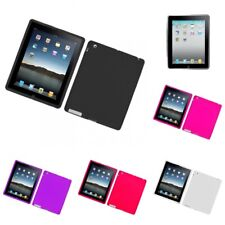 For Apple iPad 2 Case Silicon Gel Rubber Soft Flexible Phone Cover