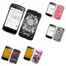For LG Google Nexus 4 Hard Phone Case Design Rubberized Snap-On Cover