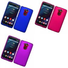 For Motorola Droid Turbo Hard Snap-On Rubberized Phone Skin Case Cover