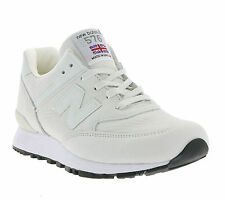 New Balance 576 Ladies Shoes Real leather Sneaker Trainers White W576NRW Sports