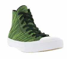 NEW Converse All Star Chuck Taylor II Hi Shoes Trainers Green 151086C