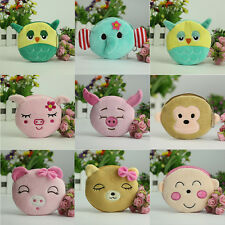Cute Lady Kids Animal Candy Colours Coin Purses Casual Women Small Wallet  G
