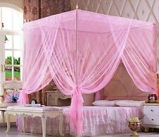 Pink Princess Bed Canopy Mosquito Netting Or Bed Frame Twin Full Queen King