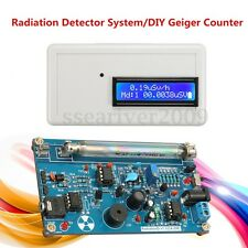Geiger Counter Dosimeter Detector DIY Kit For Nuclear Radiation Beta Gamma X Ray