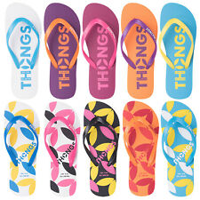 GENUINE THONGS WOMENS FLIP FLOPS PLUGGERS NEW OFFICIAL 2017 SUMMER BEACH SANDALS
