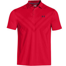Under Armour Mens ArmourVent Tips Golf Polo Shirt Jordan Spieth US Open