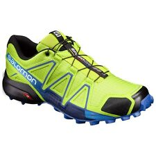 Trail Running Shoes SALOMON SPEEDCROSS 4 Lime Green