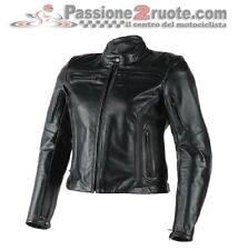 Dainese Nikita lady black moto leather jacket