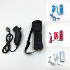 BUILT IN MOTION PLUS REMOTE CONTROLLER + NUNCHUCK + SILICON+HAND STRIP FOR WII U