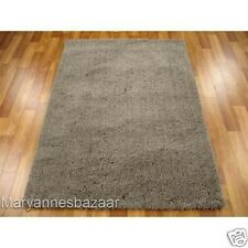 Shag Shaggy Floor Rug Beige Extra Large Thick Plush Soft Pile FREE DELIVERY