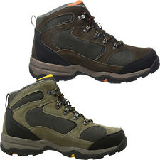 2017 Hi-Tec Storm Mens Suede Leather Hiking Sports Walking Boots - Waterproof