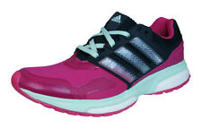 adidas Response Boost 2 Techfit Womens Running Trainers / Shoes - Dark Pink
