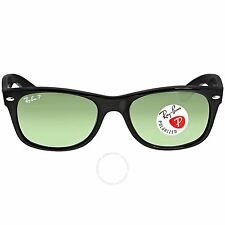 NEW Genuine Ray-Ban RB2132-901/58 Unisex NEW WAYFARER Black Polarized Sunglasses