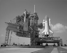 Space Shuttle Discovery on Mobile Launch Platform at Launch Pad 39A Photo Print