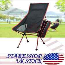 Portable Design Fishing Chair Moon Chair Aluminum Lightweight Table 2 Cup Holder