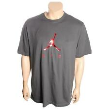 Mens Nike Jordan Jumpman Air Dots Tee Grey