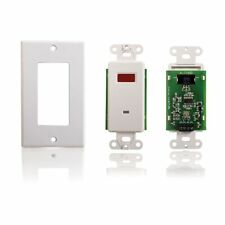 C2G / Cables To Go 40478 TruLink Infrared IR Remote Control Dual Band Wall Plate