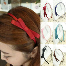 Wholesale Women's Fashion Headband Accessories Cute Hair Band Bowknot Hair Hoop