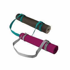Gaiam Easy Cinch Yoga Mat Sling Sold Individually with Assorted Colors, Sea or
