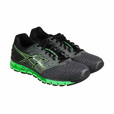 Asics Gel-Quantum 180 2 Mens Black Mesh Athletic Lace Up Running Shoes