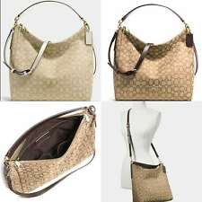 NEW COACH CELESTE CONVERTIBLE HOBO IN OUTLINE SIGNATURE JACQUARD F58327 $375