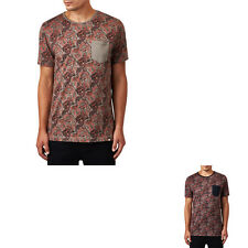 Pretty Green Men's Turner Paisley T-Shirt - Liam Gallagher's Brand