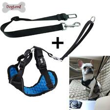 Adjustable Pet Dog Car Safety Seat Belt Harness Vest Strap Restraint Lead Leash