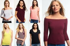 New Womens Superdry Tops. Various Styles & Colours