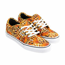 Vans Chukka Low Mens Multi-Color Canvas Lace Up Lace Up Sneakers Shoes