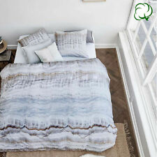 100% Cotton Fall Natural Quilt Cover Set by At Home - QUEEN KING Super King