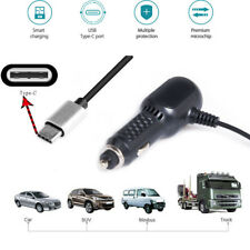 HIGH SPEED Car Charger With 2.4A Dual USB Ports + 2A Type C Charger Cable Cord
