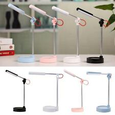 Modern USB Rechargeable Touch Sensor LED Light Desk Table Reading Lamp Foldable
