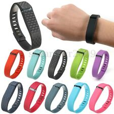 New 3D Replacement Wrist Band & Clasp for Fitbit Flex Bracelet Small (NoTracker)