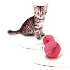 Pet Cat Dog LED Laser Ball Interactive Toy Automatic Red Pointer Light Training