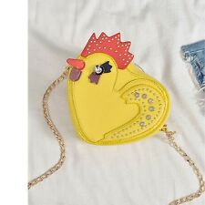 Cock Chicken Rivet Casual Shoulder Bag Fashion Women Cross Body Messenger Bag