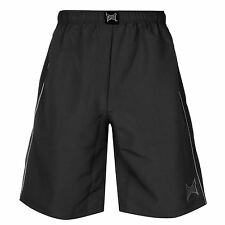 Tapout Workout Shorts Mens Black Sportswear Short Boxing MMA