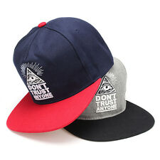 Fashion New Cool Men's Bboy Hip Hop Adjustable Baseball Cap Snapback Unisex Hats