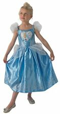 Girls Disney Princess Cinderella Book Day Fancy Dress Costume Outfit 3-10 years
