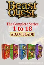 Beast Quest The Complete Series Collection Adam Blade series (1 to 18) Brand NEW