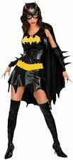 Ladies Sexy Batgirl Superhero Comic Hero Halloween Fancy Dress Costume Outfit