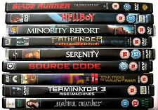 VARIOUS DVDS..SCI-FI & FANTASY.SOLD INDIVIDUALLY..REGION 2 DVDS.FREE UK P&P