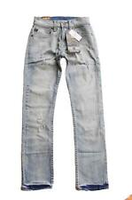 10 - 16 BOYS Quiksilver SLIM SURF BLUE Boys Skinny Leg Jeans Pants Denim Rrp$80