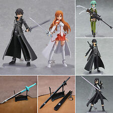 Sword Art Online SAO Asuna Kirito Sinon PVC Action Figures Figma Figurine In Box