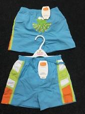 Baby Boys Blue Octopus Swim / swimming shorts with integral swim nappy