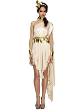 Fever Greek Goddess Legends & Myths Roman Toga Fancy Dress Costume Cleopatra