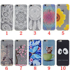 Mandala Floral Totem Ultra Slim Clear TPU Back Gel Case Cover For Samsung Galaxy