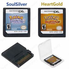 Pokemon HeartGold / SoulSilver Version Game Card For Nintendo 3DS NDSi NDS Lite2