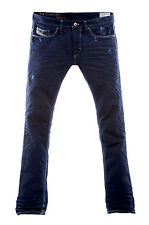 Diesel Thanaz 601K Jeans 0601K Straight Leg Slim-Skinny Fit
